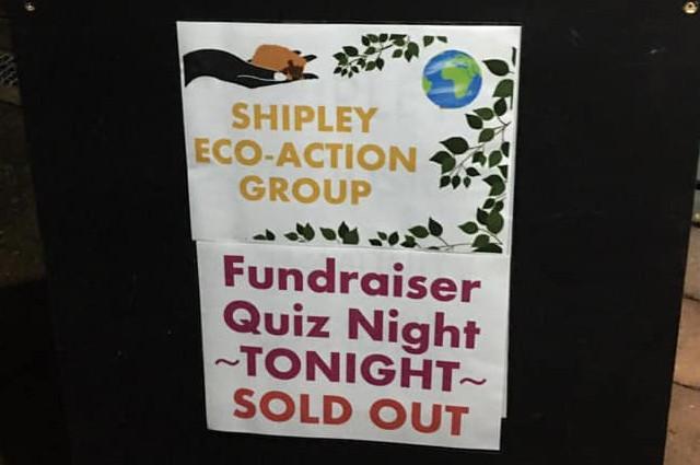 Quiz Night at Shipley Parish Hall - SEAG - Shipley Eco-Action Group