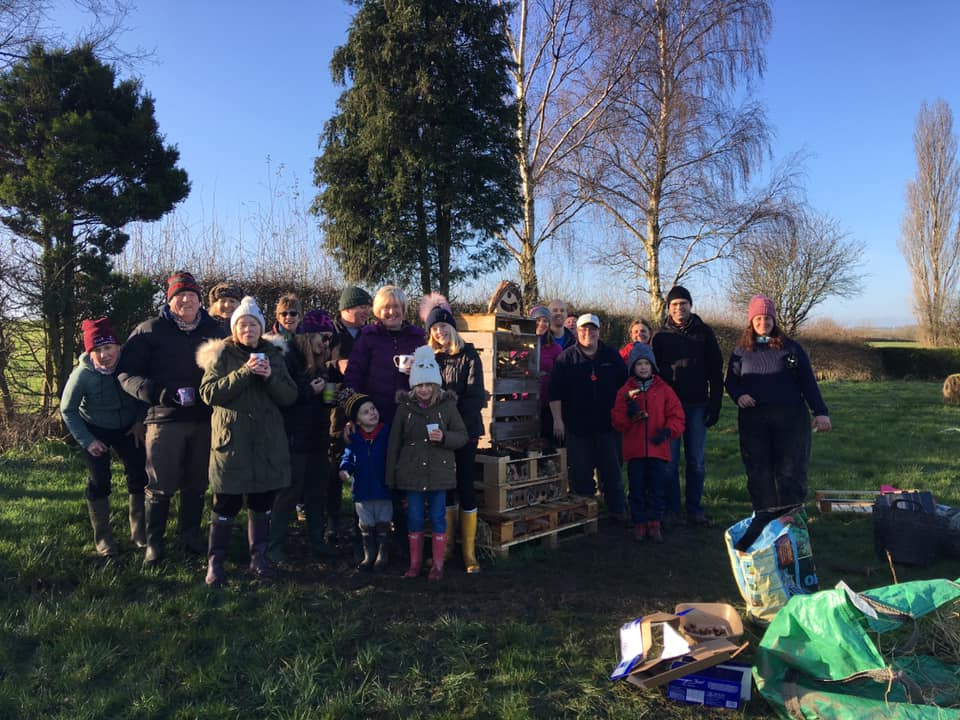 Willow Weaving and Bug Hotel - SEAG - Shipley Eco-Action Group