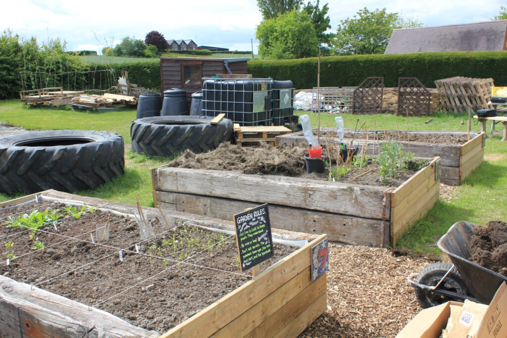 May at Shipley Woodside Community Garden - SEAG - Shipley Eco-Action Group