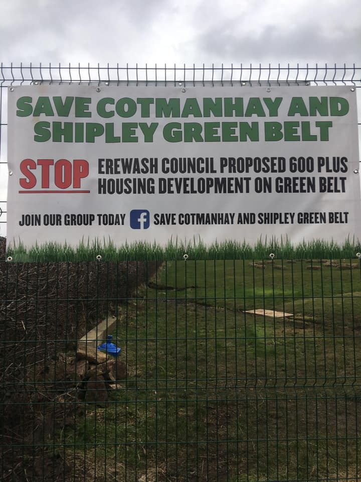 Save Cotmanhay and Shipley Green Belt - Consultation ends 20 July 2020 - SEAG - Shipley Eco-Action Group