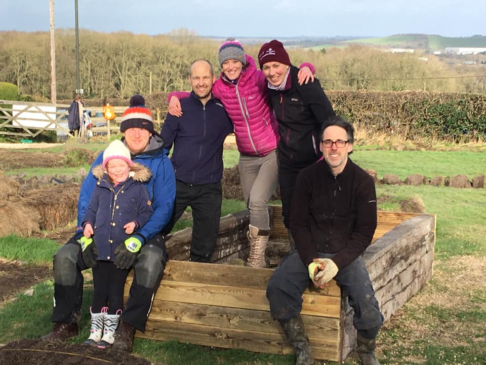 Hugelkultur raised beds - SEAG - Shipley Eco-Action Group