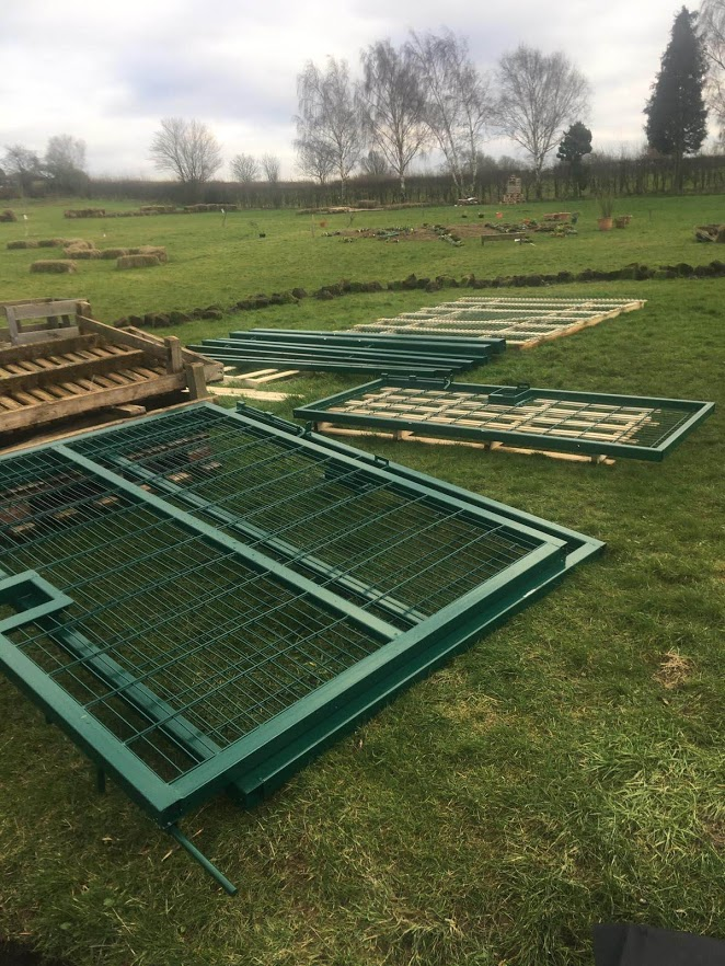 Security Gates Installed! - SEAG - Shipley Eco-Action Group