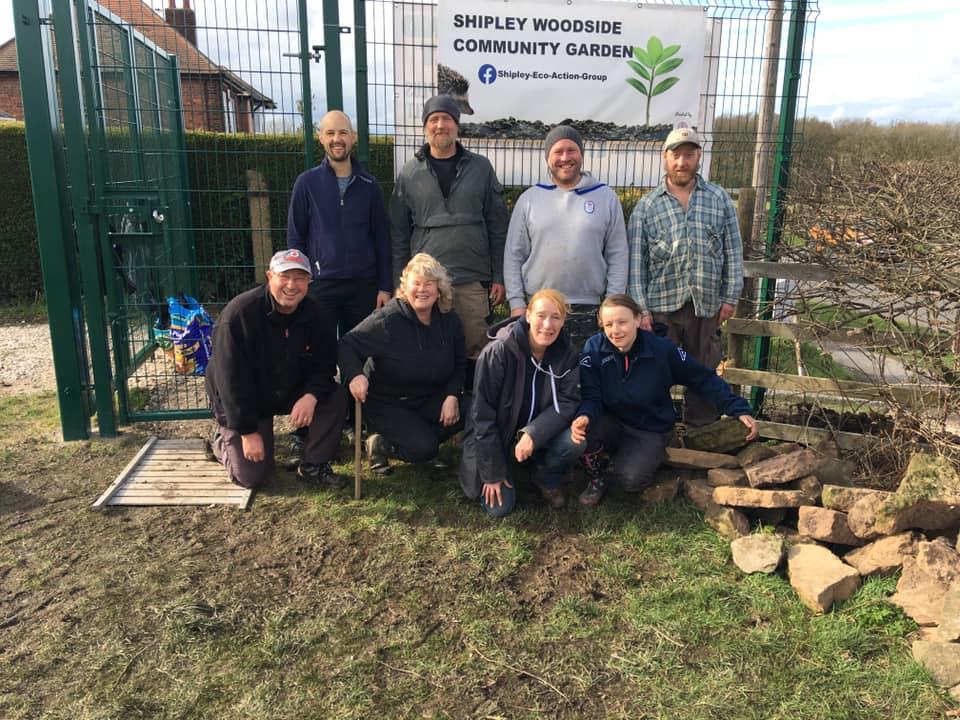 Phoenix Futures volunteers - SEAG - Shipley Eco-Action Group