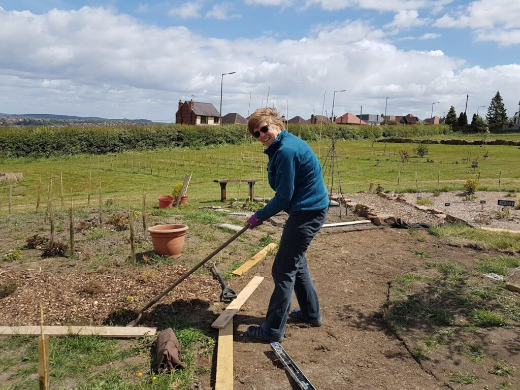 Fantastic morning at Shipley Woodside Community Garden - SEAG - Shipley Eco-Action Group