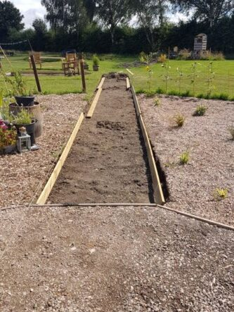 July at Shipley Woodside Community Garden - SEAG - Shipley Eco-Action Group