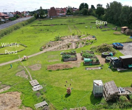 Successful funding grant for Shipley Woodside Community Garden - SEAG - Shipley Eco-Action Group