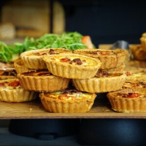 Mini Vegetable Quiches - SEAG - Shipley Eco-Action Group