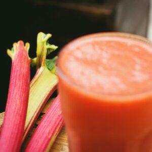 Rhubarb and Vanilla Smoothie - SEAG - Shipley Eco-Action Group