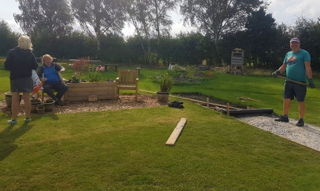 September 2020 at the Community Garden - SEAG - Shipley Eco-Action Group