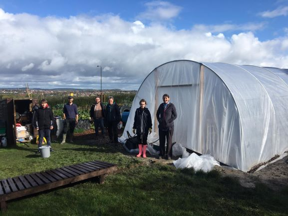 October 2020 at the Community Garden - SEAG - Shipley Eco-Action Group