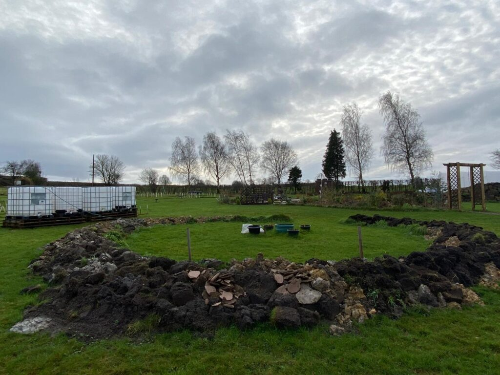 December 2020 at the Community Garden - SEAG - Shipley Eco-Action Group