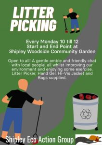 Litter Picking - SEAG - Shipley Eco-Action Group