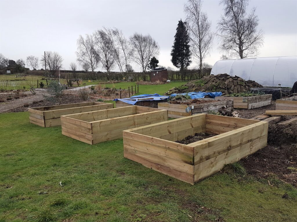 Winter at Shipley Woodside Community Garden - SEAG - Shipley Eco-Action Group