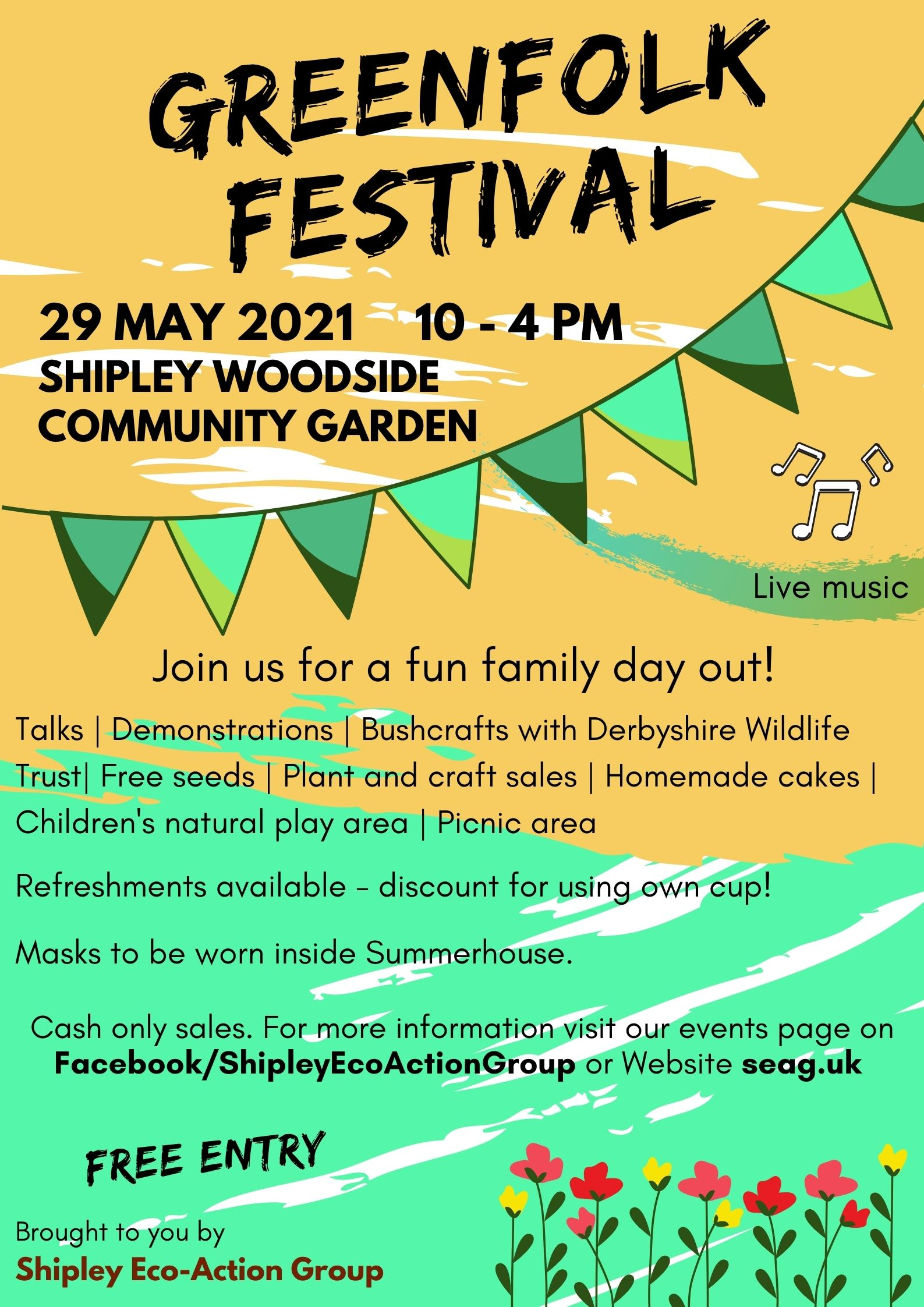 Greenfolk festival 29 May 2021