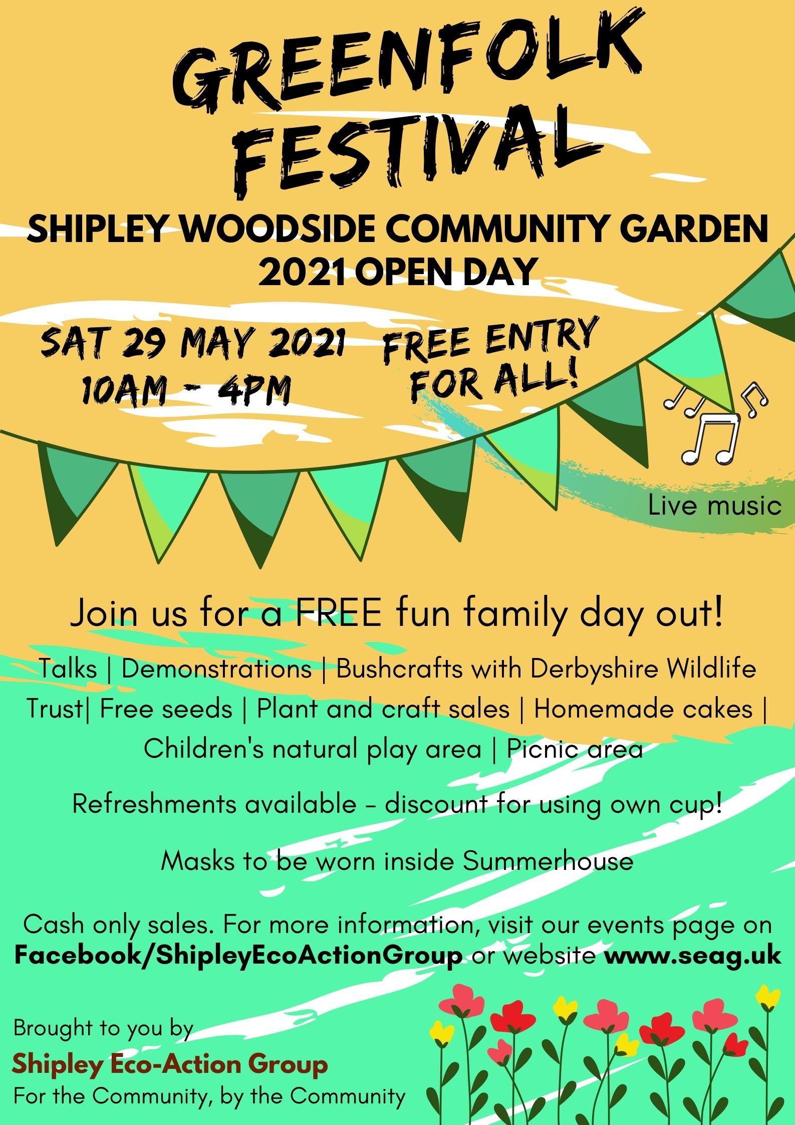Greenfolk festival open day