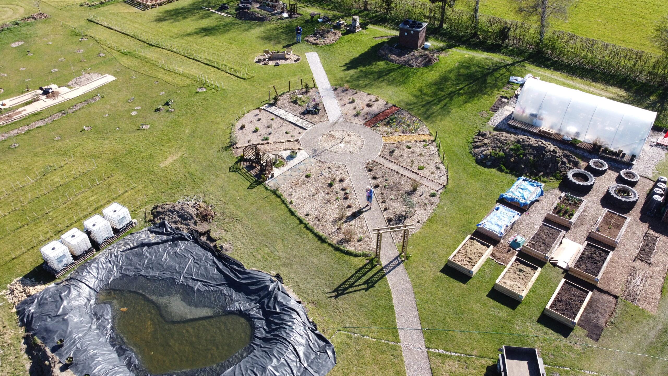 Shipley Woodside Community Garden - March 2021