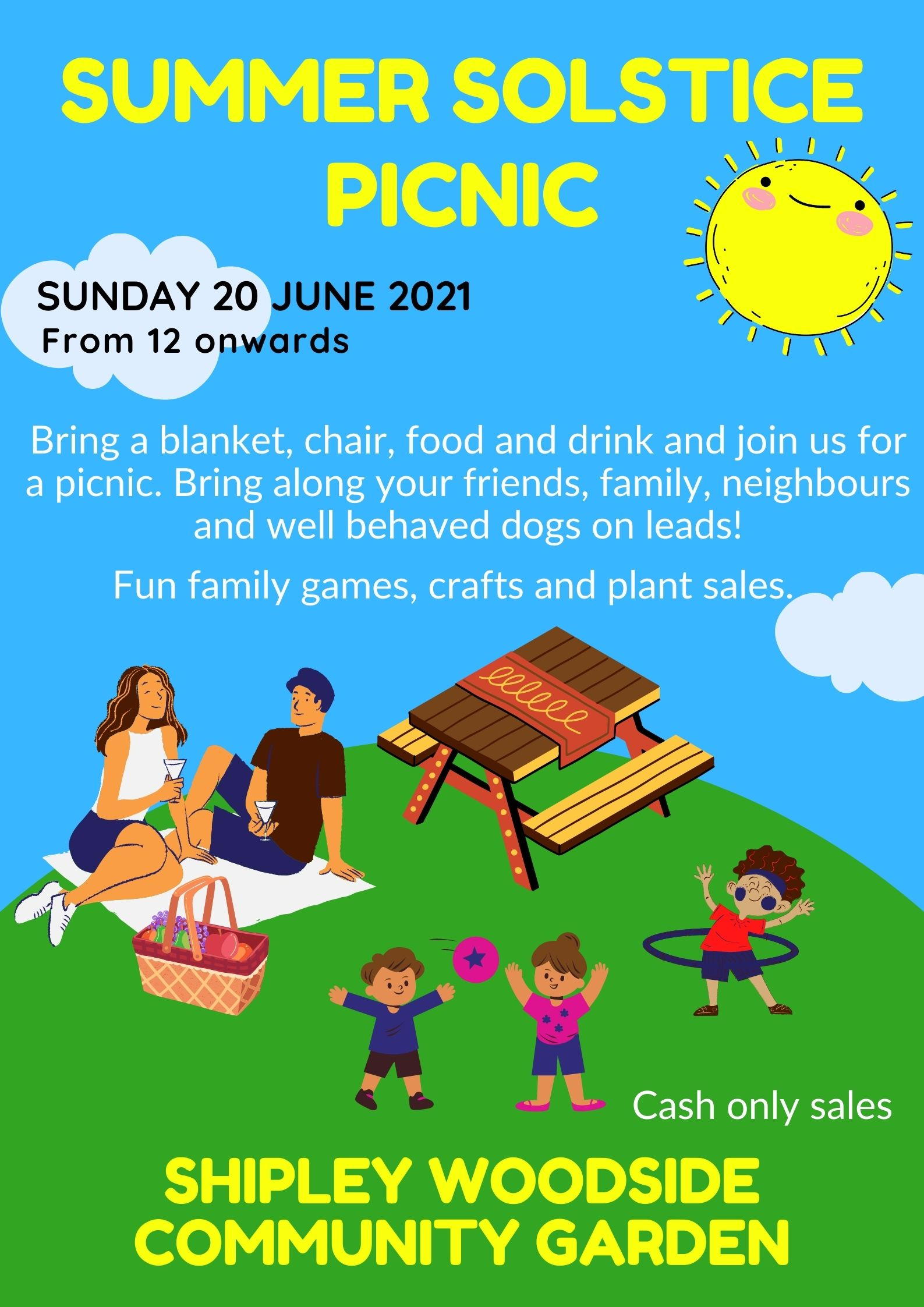 Summer Solstice Picnic - SEAG - Shipley Eco-Action Group