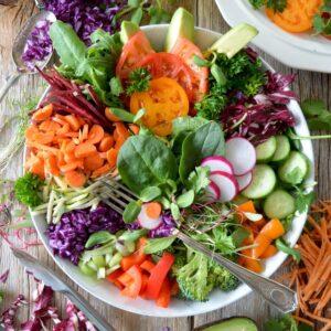 Summer Vegetable Buddha Bowl